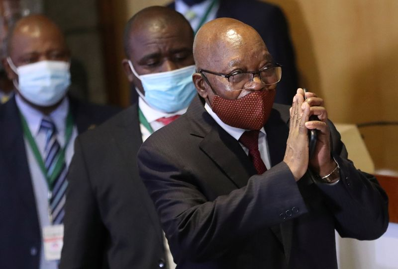 South African corruption inquiry wants Zuma jailed for two years after no-show