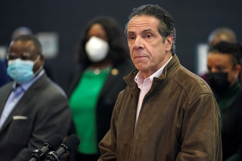 New York City theaters to reopen at 25% capacity with precautions, Cuomo says