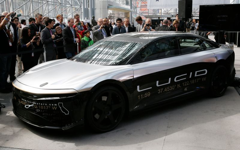 EV maker Lucid Motors to go public via Michael Klein-backed blank-check firm