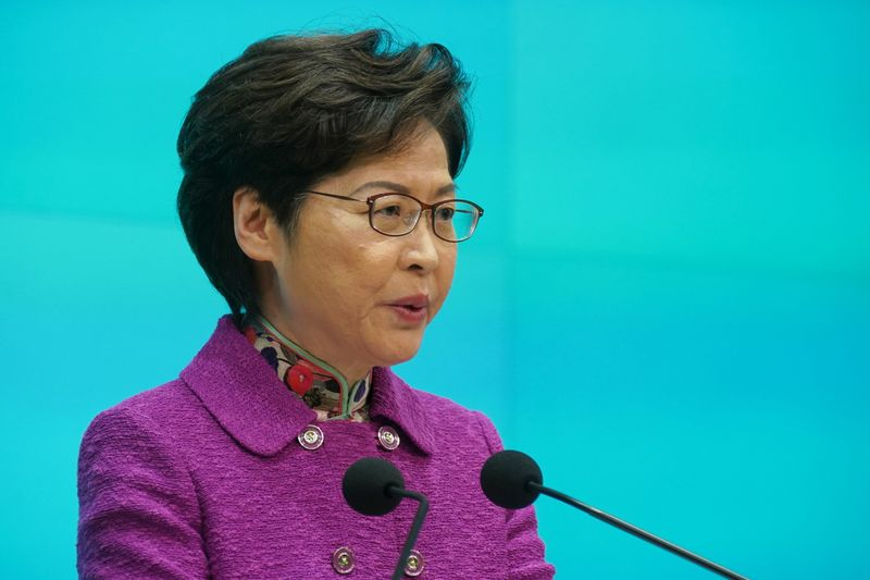 Hong Kong's Lam defends China's plans to ensure loyalists lead city