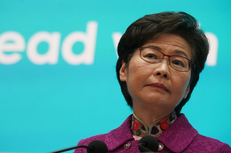Hong Kong's Lam defends China's plans to ensure loyalists lead city