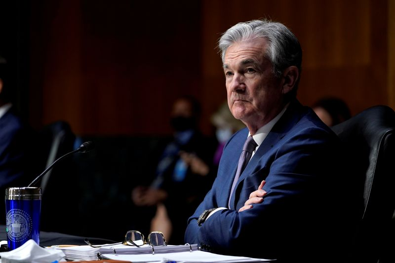 © Reuters. Chair do Federal Reserve, Jerome Powell