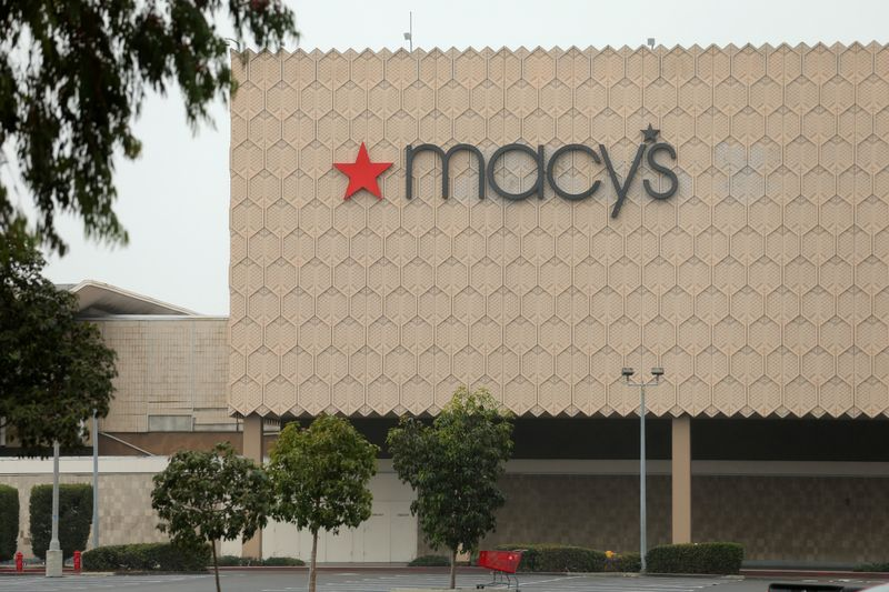 Macy's forecasts upbeat 2021 sales on stimulus checks, online shoppers By Reuters
