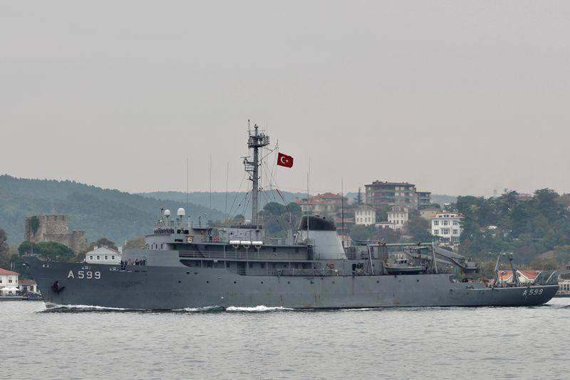 Turkey says Greek jets harass research vessel over Aegean Sea