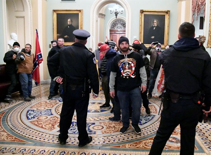 Former U.S. House sergeant-at-arms denies 'optics' dictated security at Capitol Jan. 6