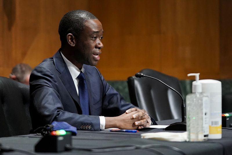 Treasury nominee Adeyemo says pandemic aid to poorest countries critical to U.S. interests