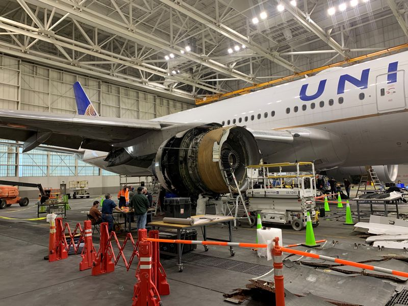 FAA working 'nonstop' on United Airlines Boeing 777 engine failure probe - administrator