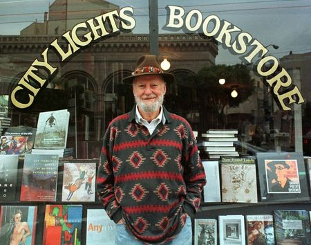 Beat poet Lawrence Ferlinghetti dies at age 101