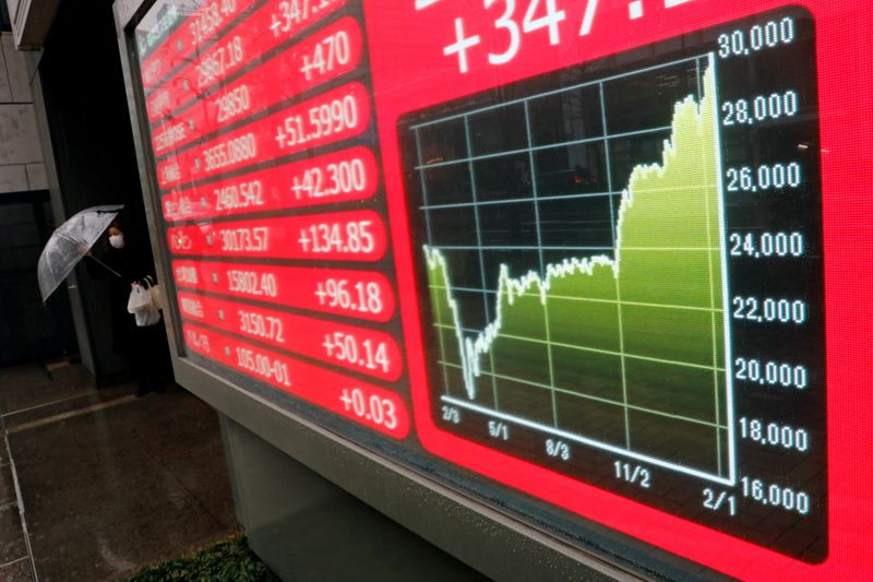 Asian stocks open lower on inflation fears