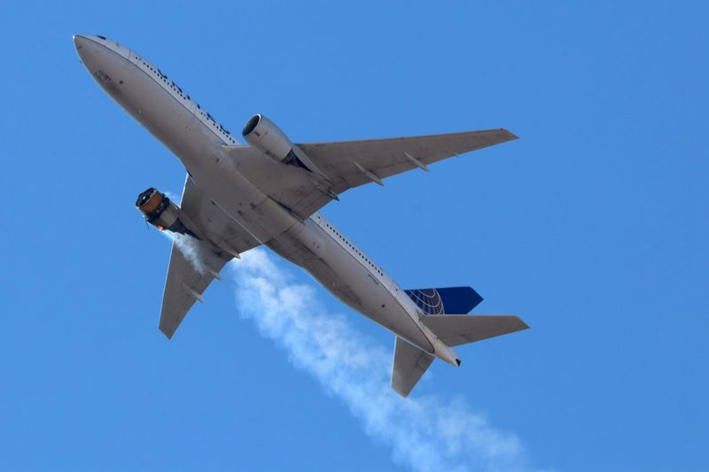 FAA orders immediate inspections of some Boeing 777 engines after United failure