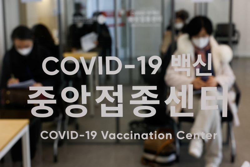 South Korea hails arrival of virus vaccines as first step in 'return to normal'