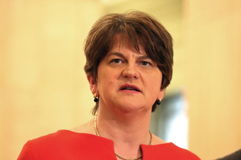 Northern Ireland's first minister ups ante in UK-EU trade dispute