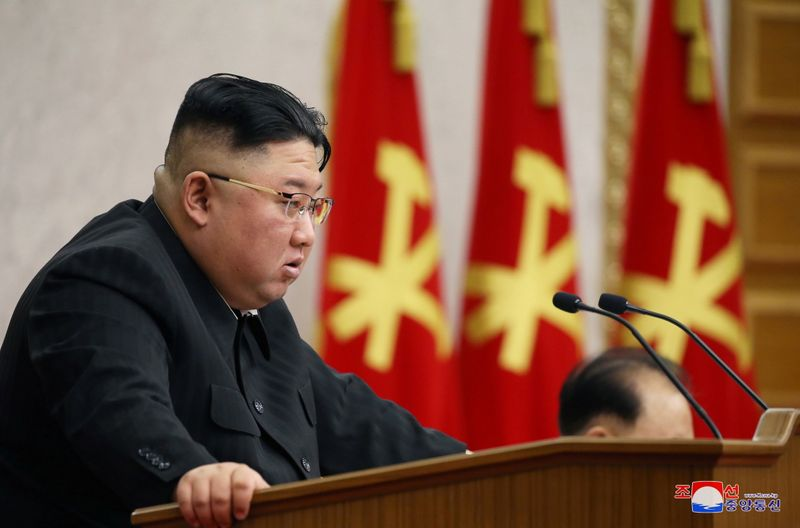 North Korea's Kim calls for tougher discipline in his military: KCNA