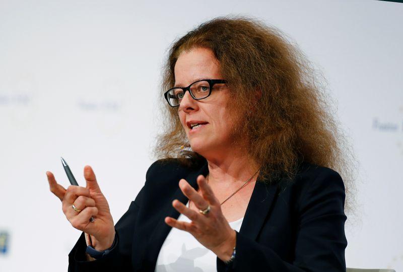 La BCE agira en cas de forte hausse des taux réels, déclare Schnabel