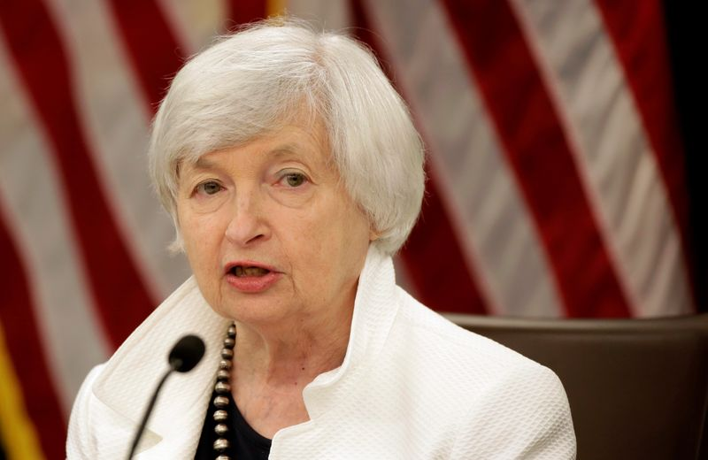 Yellen supports new allocation of IMF's SDR currency to help poor nations