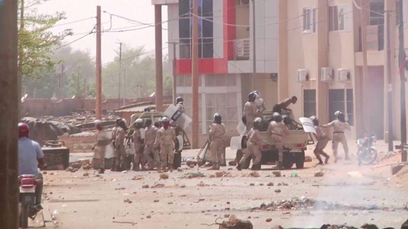 Violent protests rock Niger over contested election result