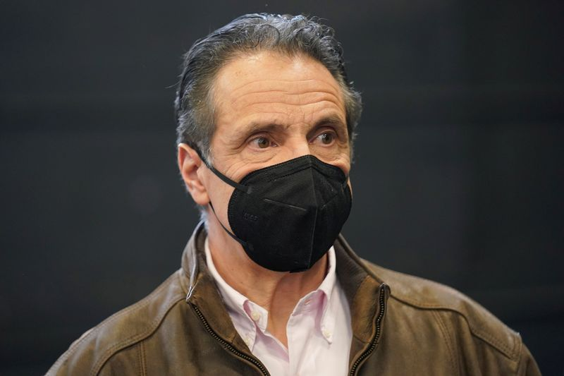 New York City mayor urges probe of sexual misconduct claims against Governor Cuomo