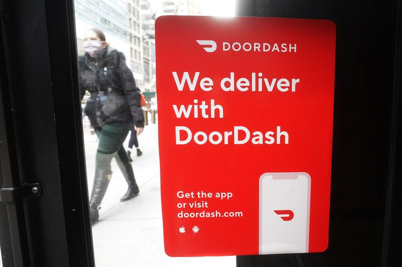 DoorDash sees orders slowing on vaccine rollouts; shares tumble