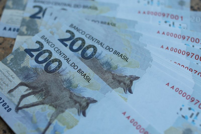 Brazil cenbank intervenes in FX as real slide deepens, down 7% this year