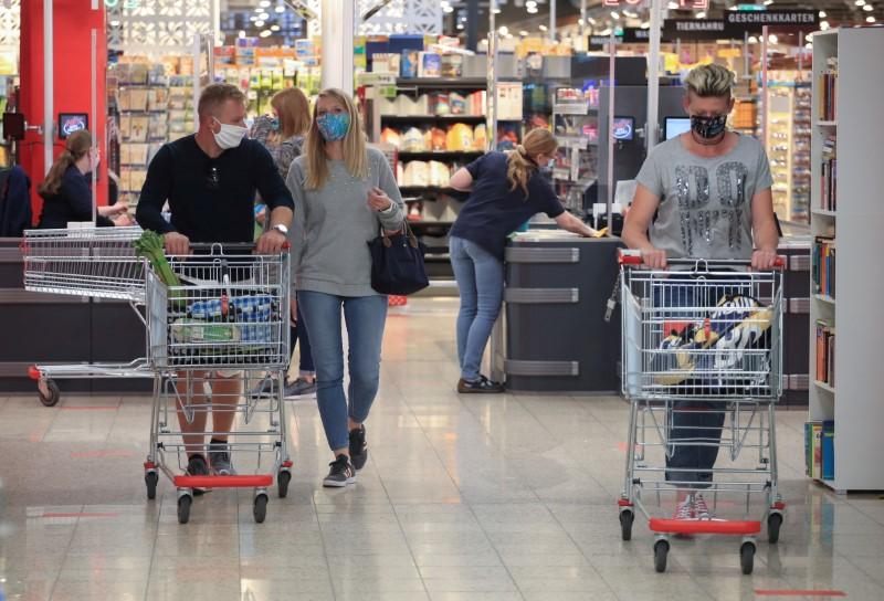 German retail sales tumble in January as lockdown bites