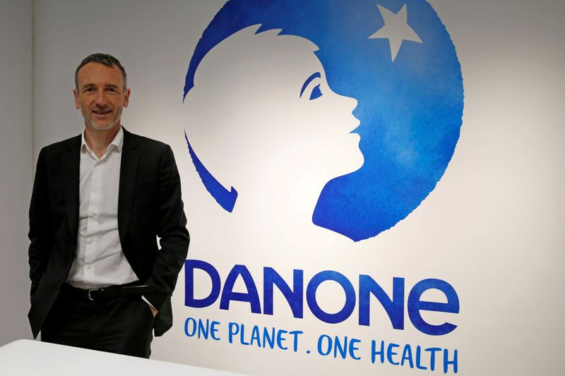 Danone shares edge up after Faber drops CEO role following investor pressure