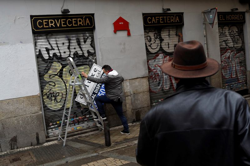 Spain's jobless hit four million for first time in five years as pandemic curbs bite