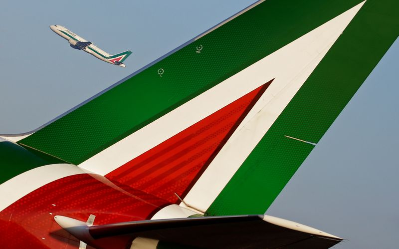Revamped Alitalia to start with 45 planes, get 1 billion euros in aid: paper