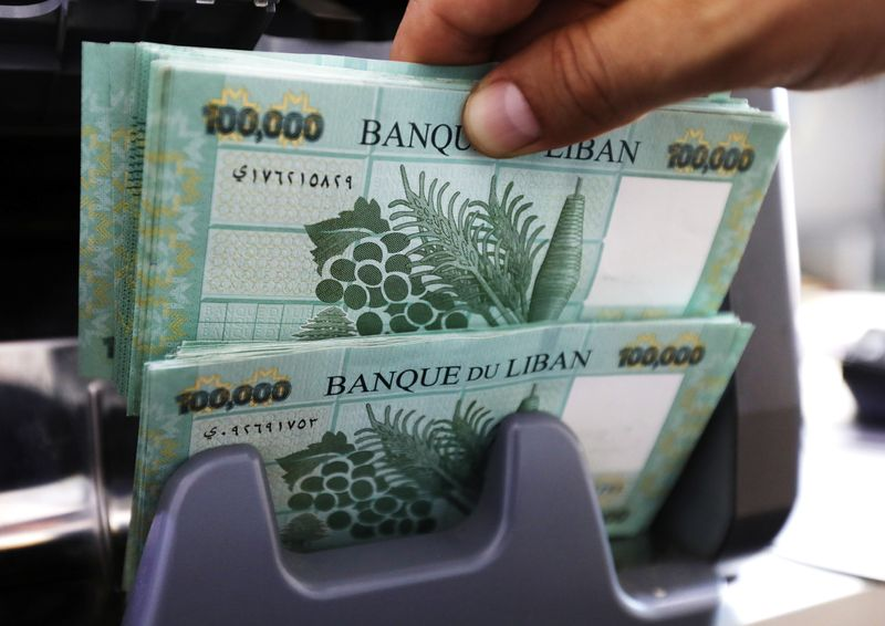 Crisis-hit Lebanese pound falls to new low of 10,000 to the dollar