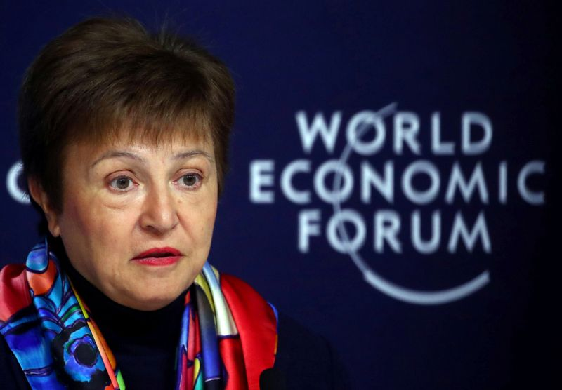 Big economies agree to boost IMF funding, Georgieva says