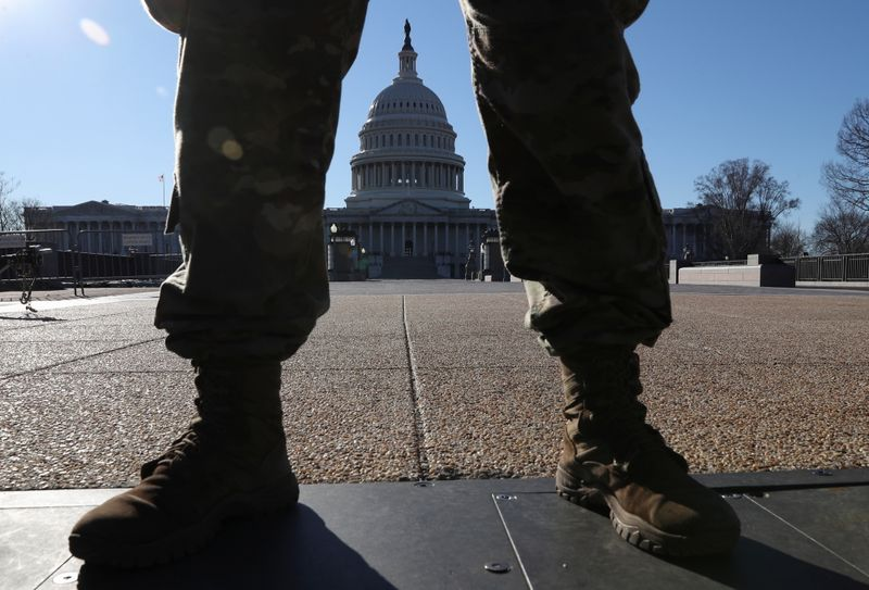 Security tight at U.S. Capitol after police warn of possible militia attack