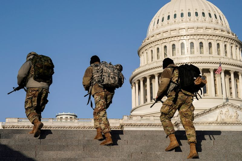 Capitol Police ask National Guard to stay for two more months: defense official