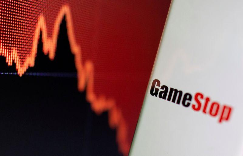 GameStop, AMC both spike before paring gains