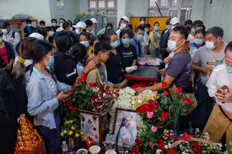 Grave of slain 'Everything will be OK' protester disturbed in Myanmar