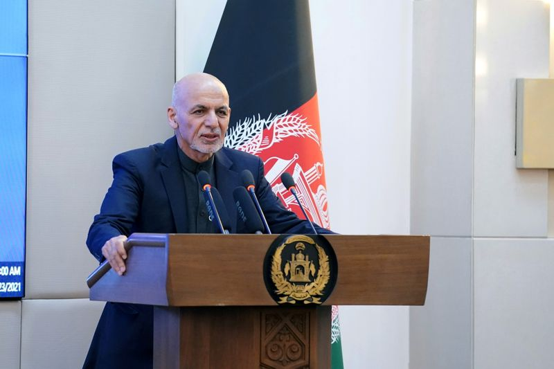 Afghan president says ready to discuss elections to advance talks with Taliban