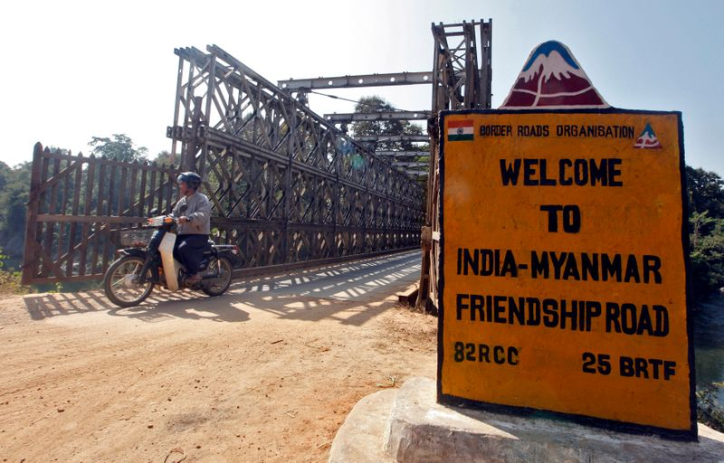 Myanmar asks India to return eight police who fled across border