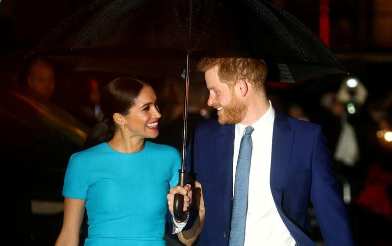 Meghan says British royals worried about her son's dark skin