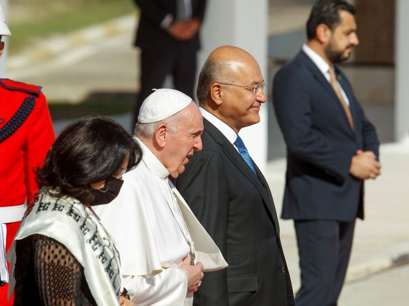 Pope Francis ends epic Iraq tour where he preached peace