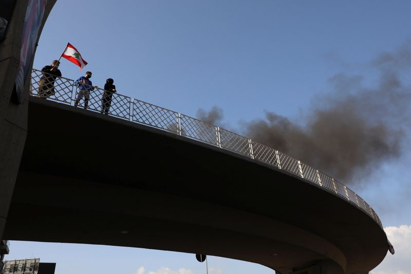 Lebanon's deadlock fuels seventh day of street protests