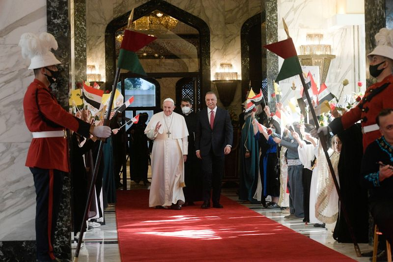 Iraq PM urges national dialogue after 'love and tolerance' of Pope visit