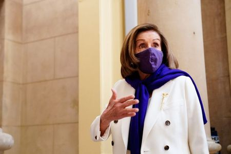 U.S. House will take up Senate's $1.9 trillion coronavirus bill by Wednesday: Pelosi