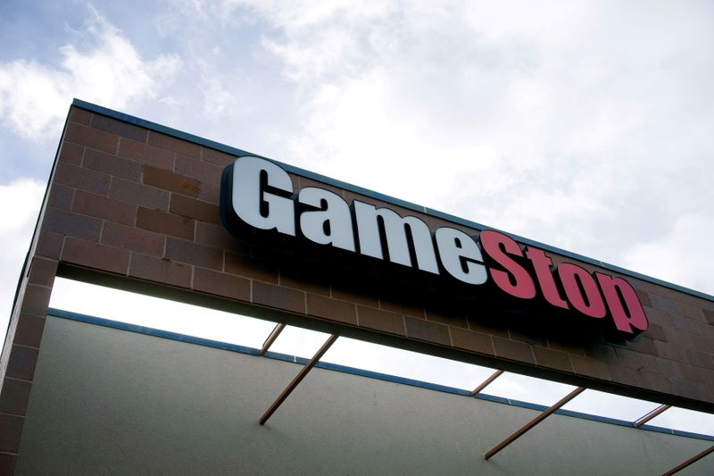 GameStop shares soar more than 20%, on track for fifth day of gains