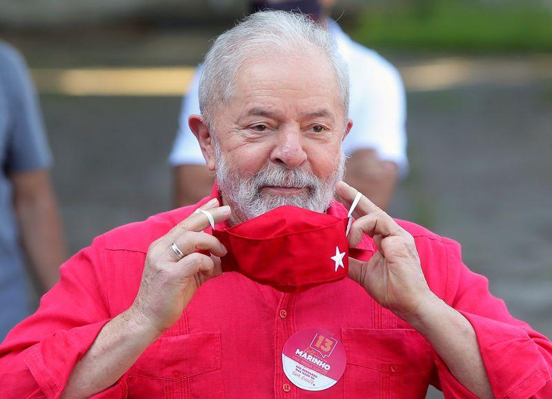 Lula 2022 hopes brighten as Brazil's top court eyes vote to toss graft evidence