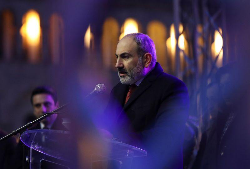 Armenian PM says army chief of staff dismissed: RIA