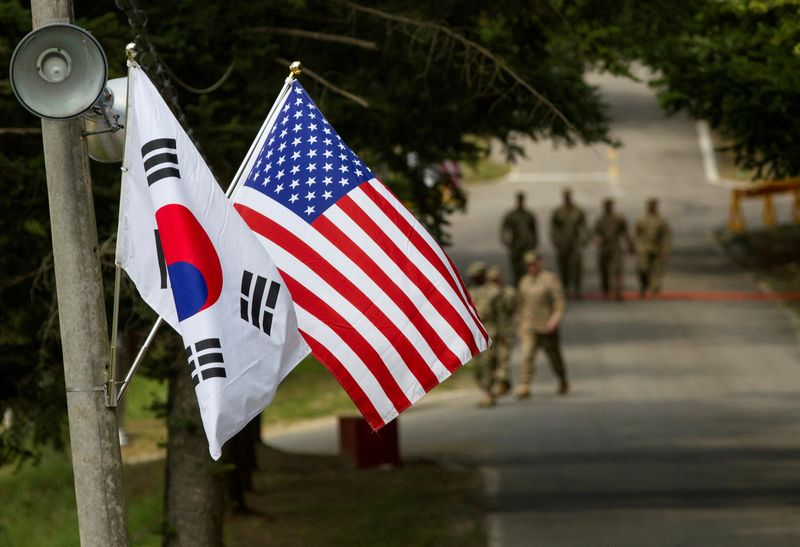 South Korea agrees to 13.9% increase in its share of cost for U.S. troops