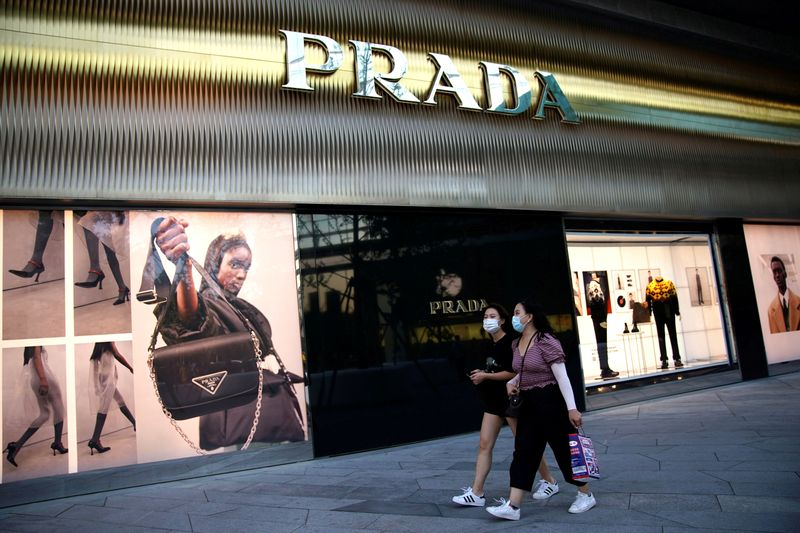 Prada bags sales boost from China rebound, online shift