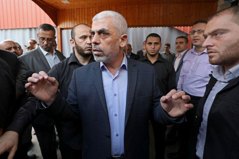 Sinwar re-elected as Hamas chief in Gaza