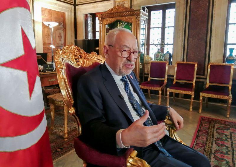 Tunisia's parliament speaker urges dialogue to end political crisis