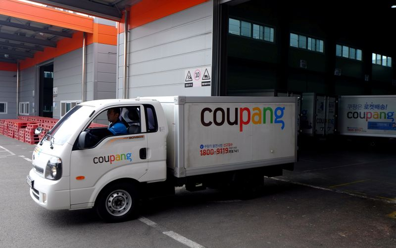 SoftBank-backed Coupang raises $4.6 billion in U.S. IPO