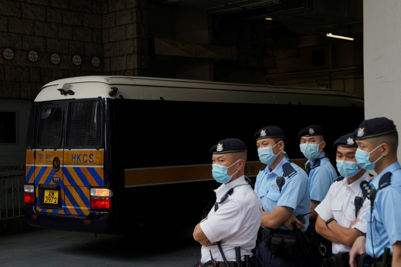 Court releases one Hong Kong activist on bail in case involving 47