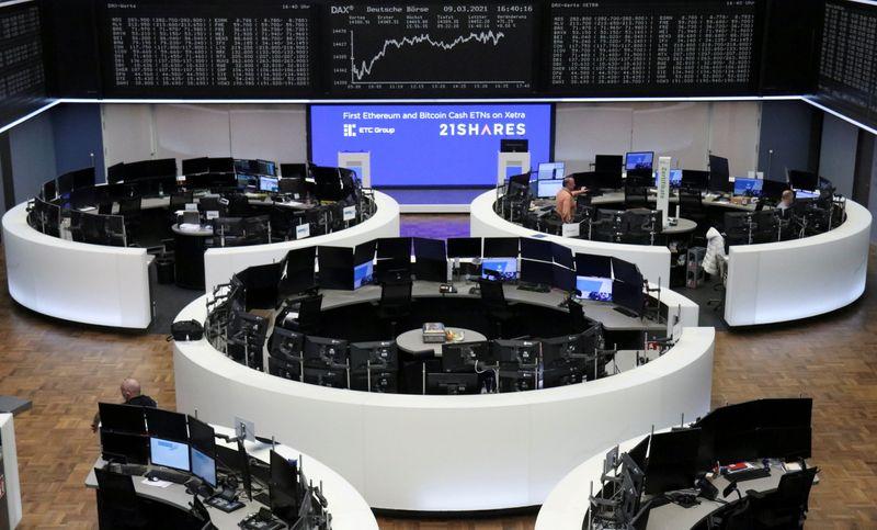 European shares hit new one-year peak ahead of ECB decision